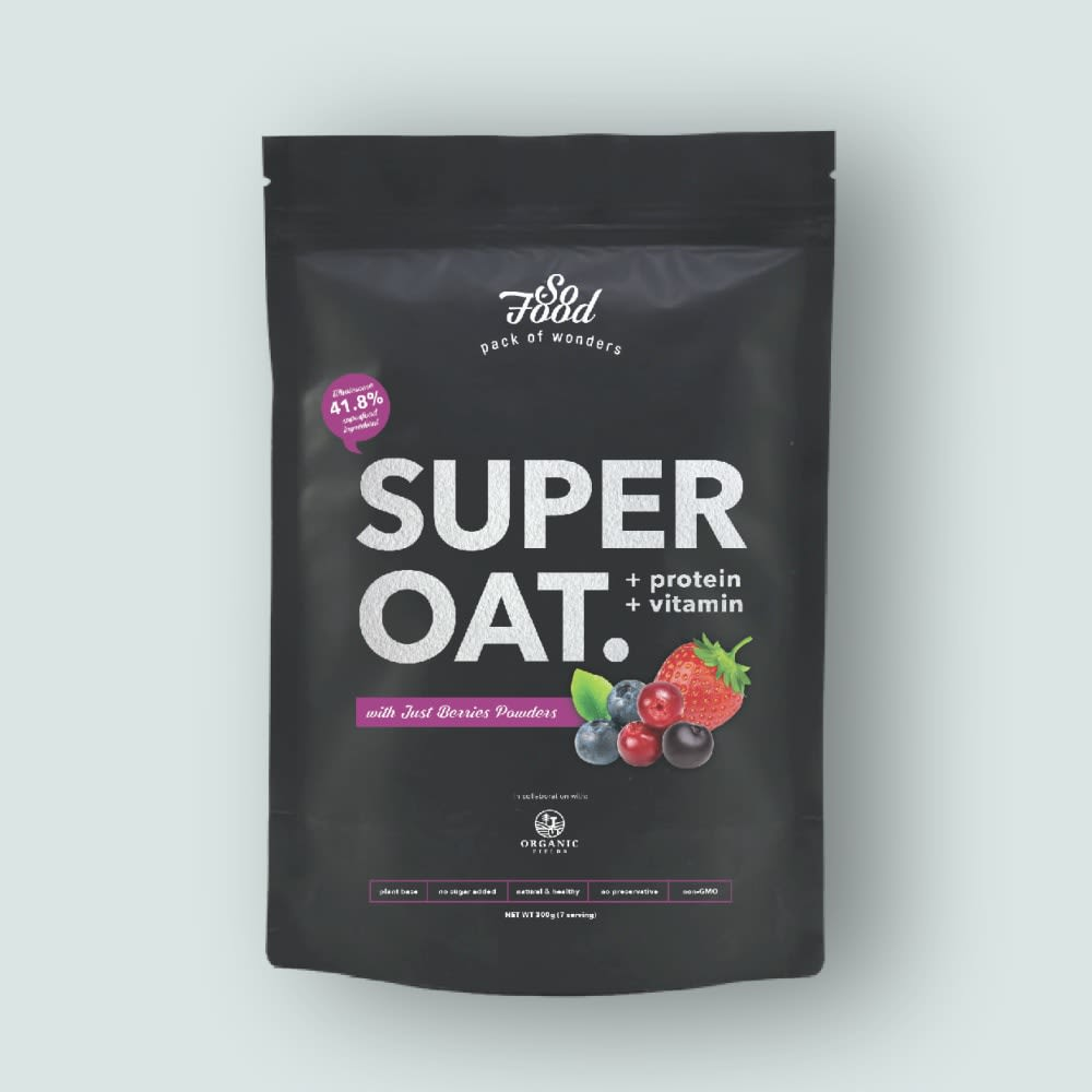 SoFood Super Oat With Berries Powder