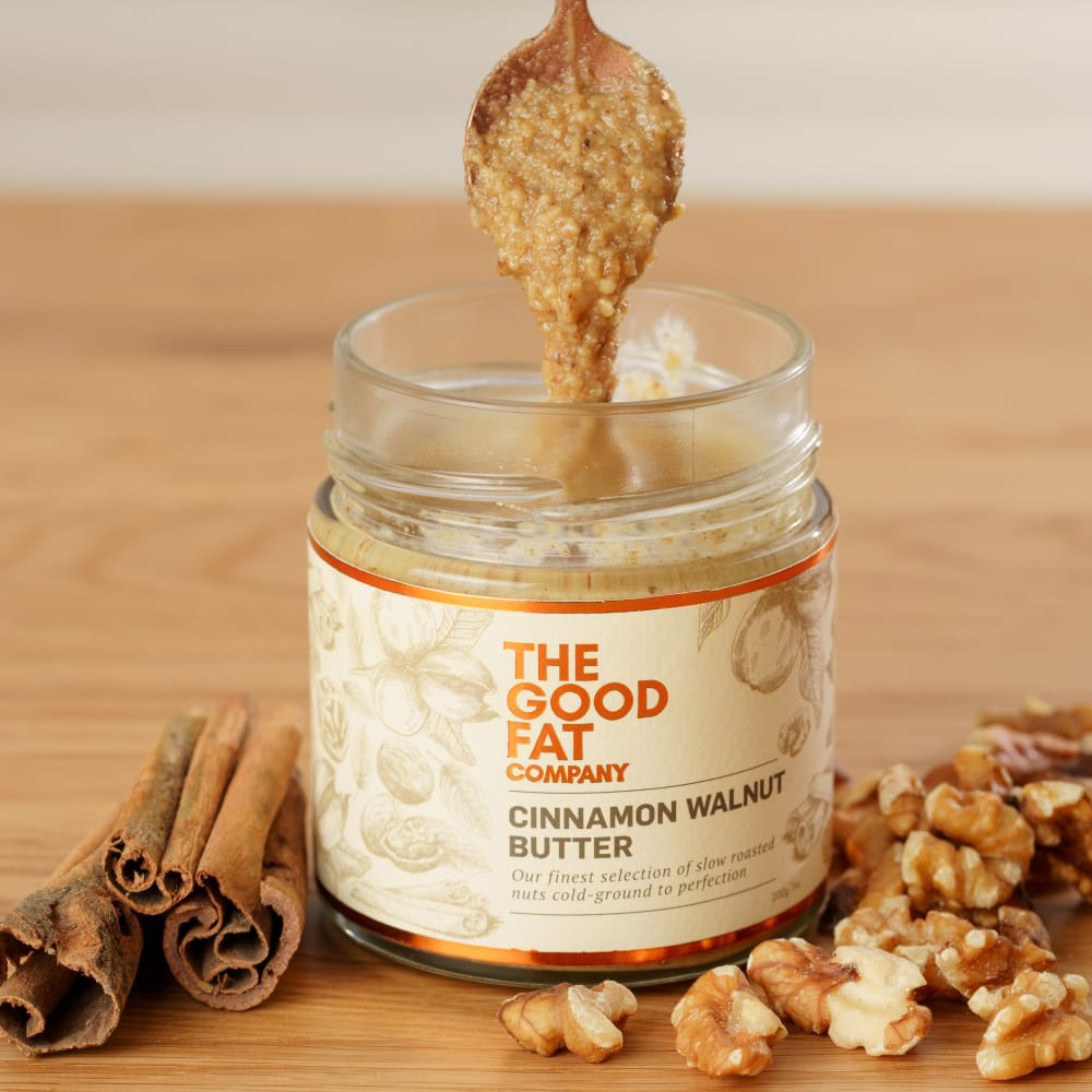 Cinnamon Walnut Butter from the Good Fat Co